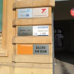Bürohaus am Untermainkai 20 - Eingangstor
